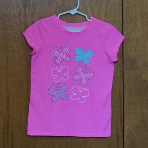 Jumping Beans Girls Pink T-Shirt